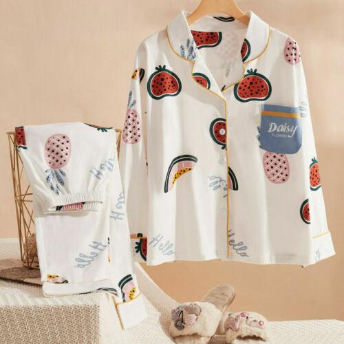 24 Styles Girls Summer Shirt Pants Tops Cute Japan Sleepwear Night Set Pyjamas