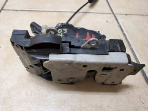 2006 2007 2008 JAGUAR X-TYPE LEFT DRIVER FRONT DOOR LOCK