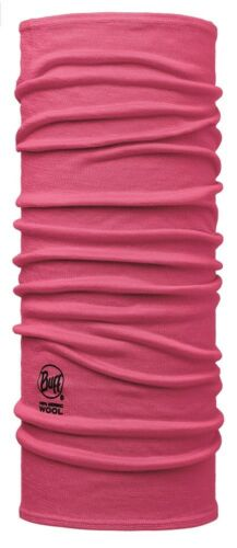 solid wild pink Buff Junior /& Child Wool Schlauchtuch