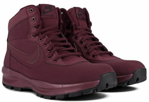 online retailer 66b15 1e43a MEN S SIZE 10.5 NIKE MANOADOME BOOTS SHOES SNEAKERS MAROON 844358 844358  844358 600 c2ae5b
