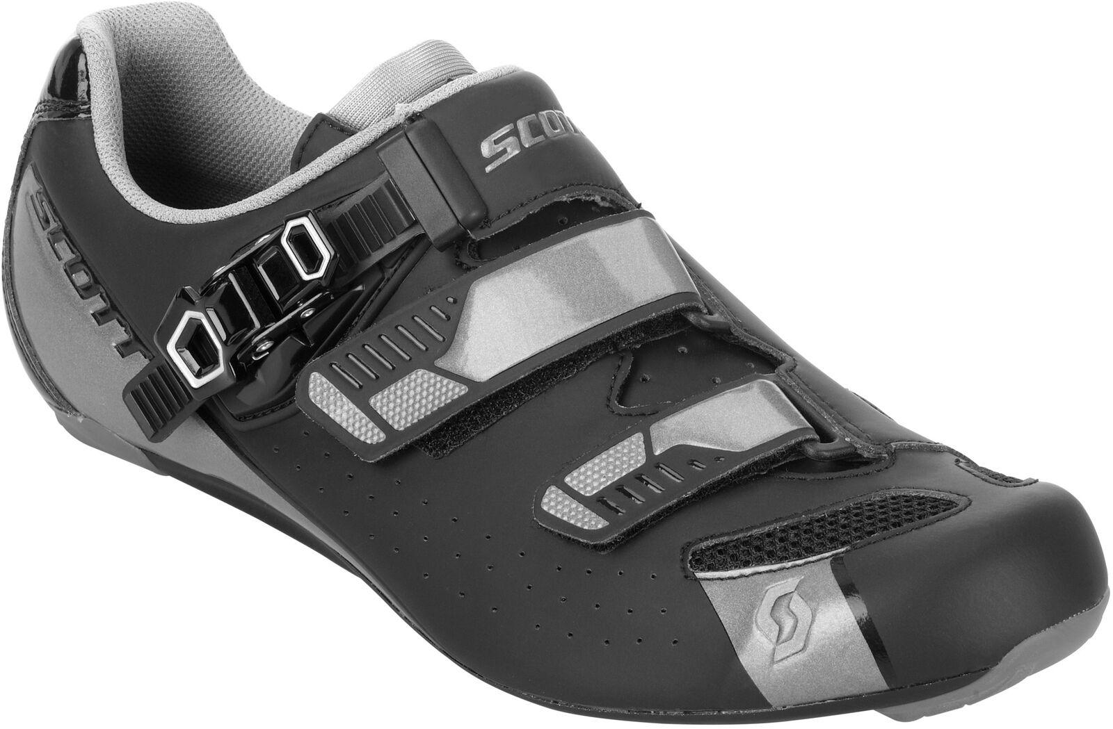 Scott Road Pro Hombres Zapatos De Ciclismo-Negro