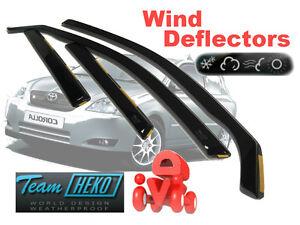 Toyota-Corolla-2002-HATCHBACK-Wind-deflectors-4-pc-HEKO-29340
