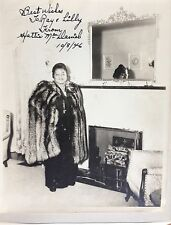 """HATTIE """"MAMMY"""" McDANIEL-INSCRIBED PHOTOGRAPH SIGNED 10/8/1946  JSA Authenticated"""