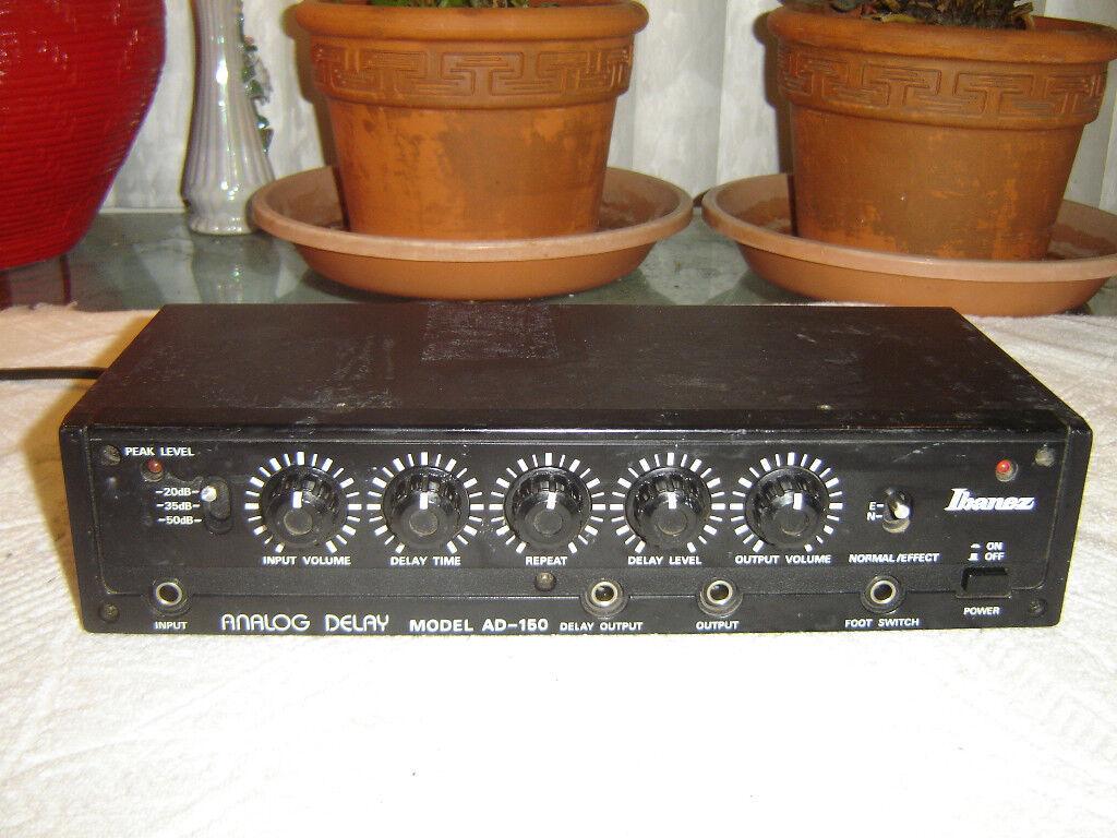 Ibanez AD-150, Analog Delay, Vintage Unit