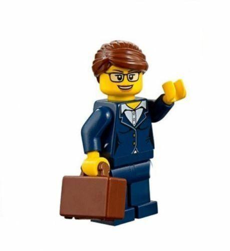 LEGO City Business Woman Lady Executive Minifigure Train Passenger 60197 60198