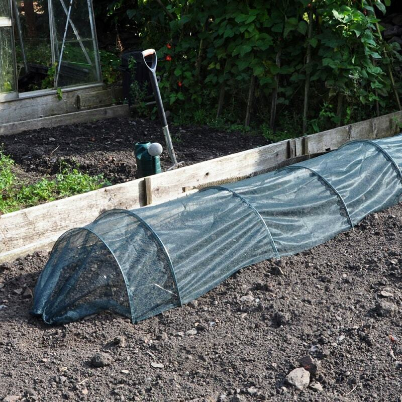 3m Net Grow Tunnel Stronger Plants Vegetable Garden Row Cover Protects Robust UK