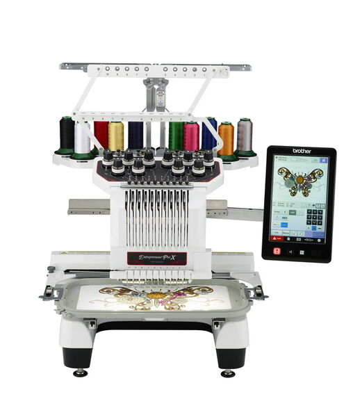 Brother Pr1050x 10 Needle Embroidery Machine Finance Options Available Ebay