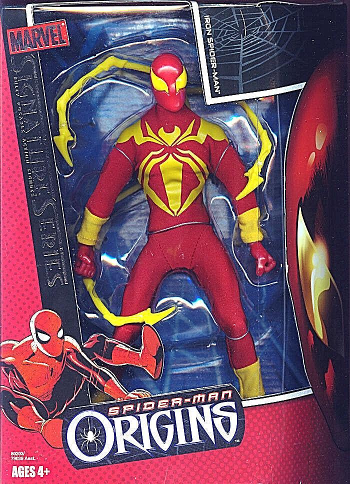 SPIDER-MAN ORIGINS Collection_Signature Series_IRON SPIDER-MAN 8 inch figure_MIB