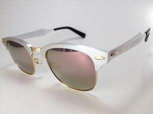 1f62bf344c Aquaswiss AQS Mil006 Milo Sunglasses Unisex 51-21-140 Silver Mirror ...