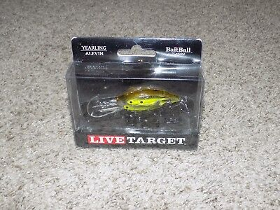 "KOPPERS Live Target Bait Ball Yearling 2.5/"",5//8 oz YRB65SK815 Pearl//olive"