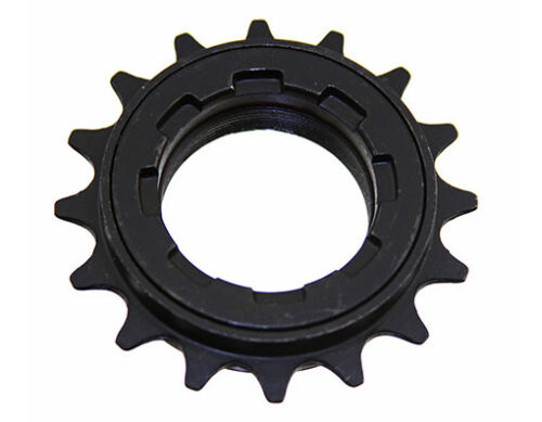 "BMX single speed 16t Freewheel  1//8/"" 16 t Free Wheel 8 key Black new"