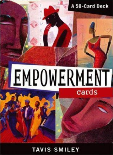 New Sealed Empowerment Cards : A 50-Card Deck by Tavis Smiley 2003 5