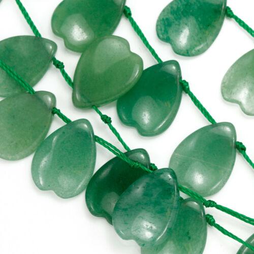 Plat Larme pétale de forme Semi-Précieux Pierre Précieuse Perles pour Fabrication de Bijoux