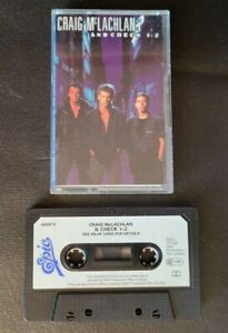 CRAIG MCLACHLAN and CHECK 1-2 SELF TITLED - RARE AUSTRALIAN CASSETTE TAPE IMPORT