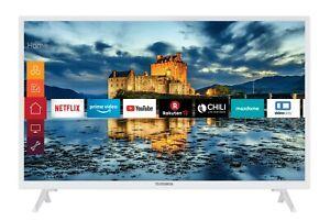 Telefunken XH32J511-W LED Fernseher 32 Zoll HD Ready Triple-Tuner Smart TV WLAN