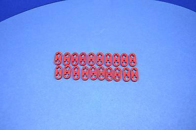 10x Lego Technic Liftarm flach hellgrau 41677 1x2 Technik 4211741