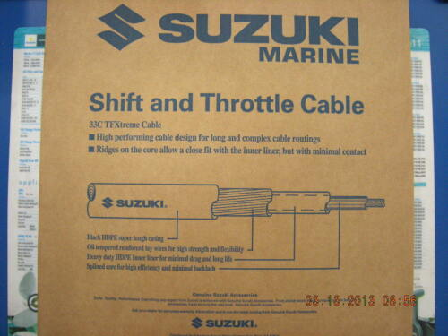 Suzuki Outboard Parts 25 FT 33C TFXtreme Performance Remote Control Cable