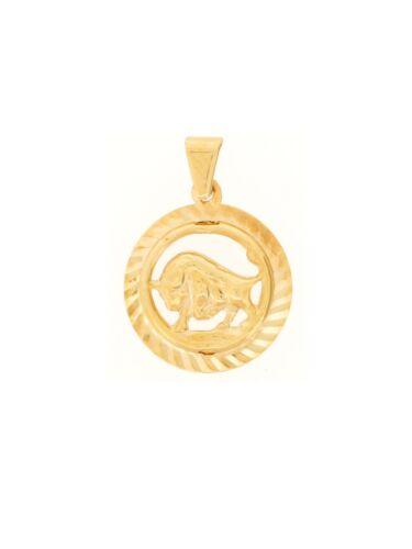 Gelbgold Gold 24.9021ST 585 Gerry Eder  Anhänger Stier 14 Karat
