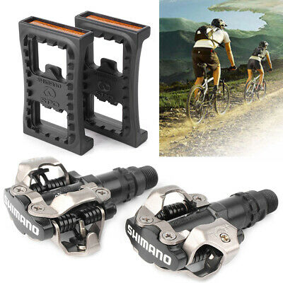 SM-PD22 NIB Shimano PD-M520 MTB Mountain Bike Clipless Pedals with SPD Cleats