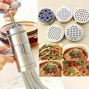 Household-Stainless-Steel-Manual-Pasta-Machine-Hand-Pressure-Noodle-Maker-Juicer