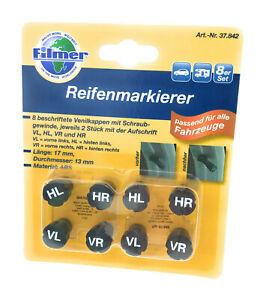 Filmer-Reifenmarkierer-8er-Set-Radmerker-Reifenmarkierung-Reifen-Reifenwechsel