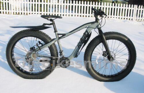 Axiom FrontRunner or RearRunner Fat Bike MTB Fender ClipOn QR Lightweight Choose