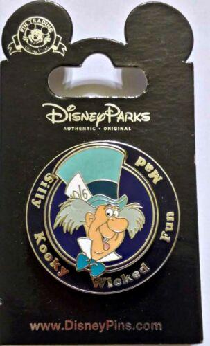 Disney Parks Pin Mad Hatter SPINNER Alice in Wonderland character