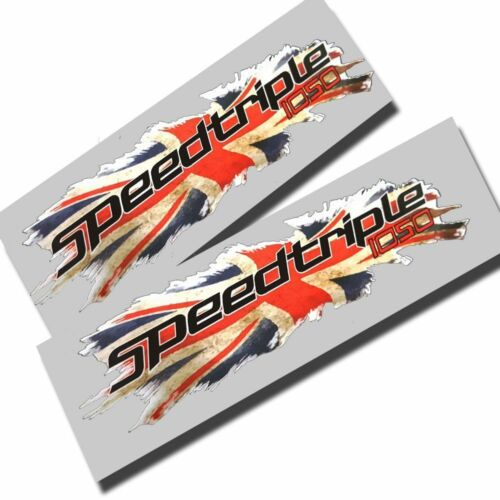 Union flag jack  Triumph speed triple 1050  graphics stickers decals x2 small