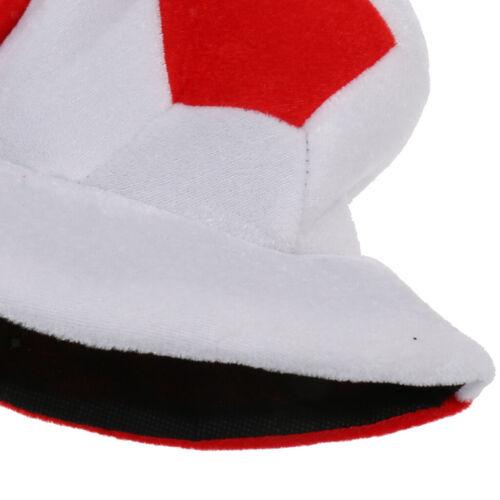 Champions  England Football Soccer Hat Party Costume Headgear Cap
