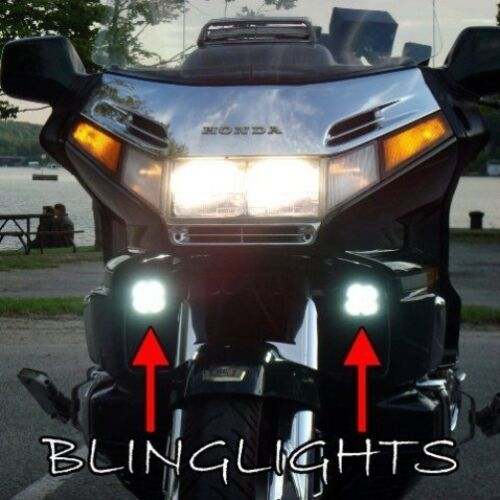 4300K LED Driving Lights Fog Lamps for Honda Gold Wing Goldwing GL1500