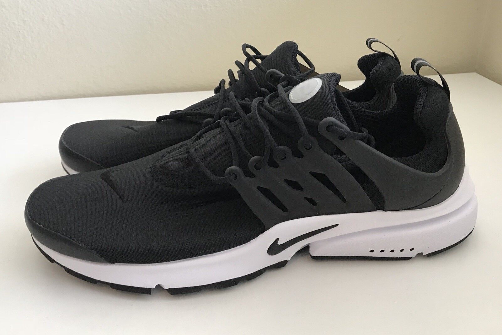 Nike Air Presto Essential Black White Running Mens Sz 14 Trainers Running White Shoes NEW 5f438d
