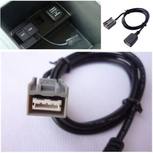 Aux Usb20 Cable Adapter Female Port For Honda Civic Jazz Cr V