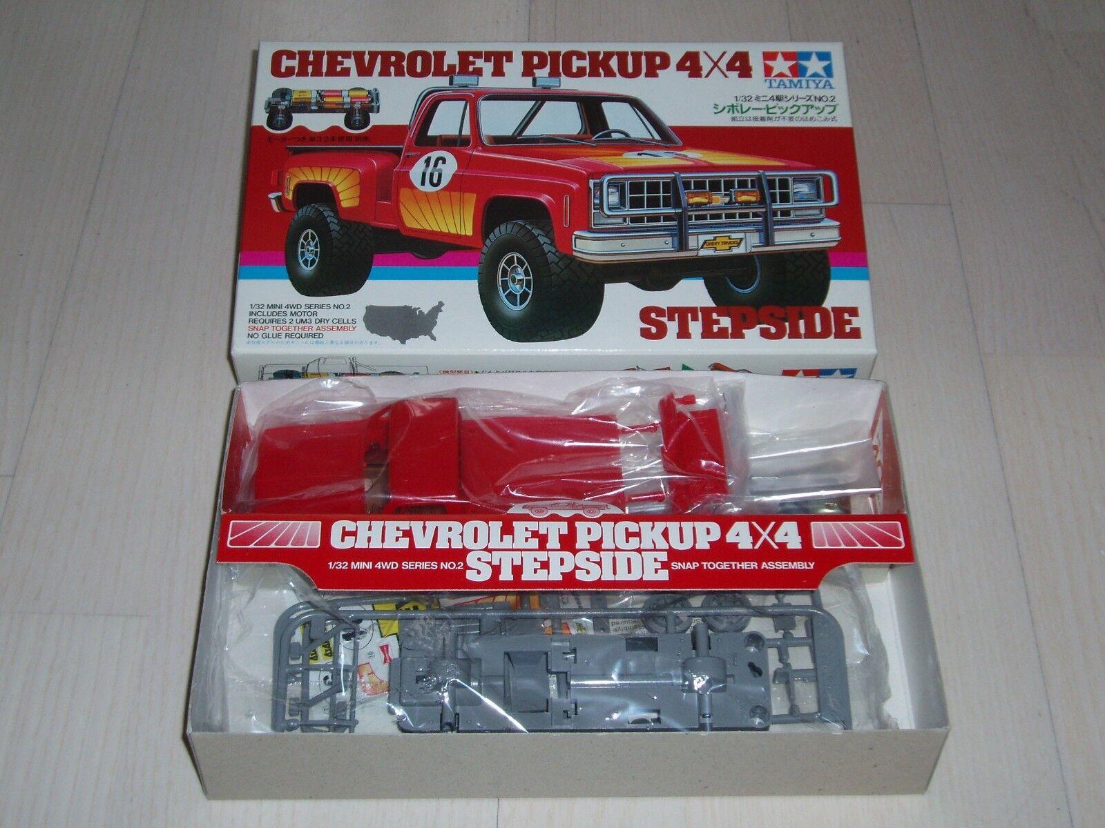 Vintage-TAMIYA-1982-Chevrolet-4x4 1 32 (item Kit. No. 1902) Mini 4WD