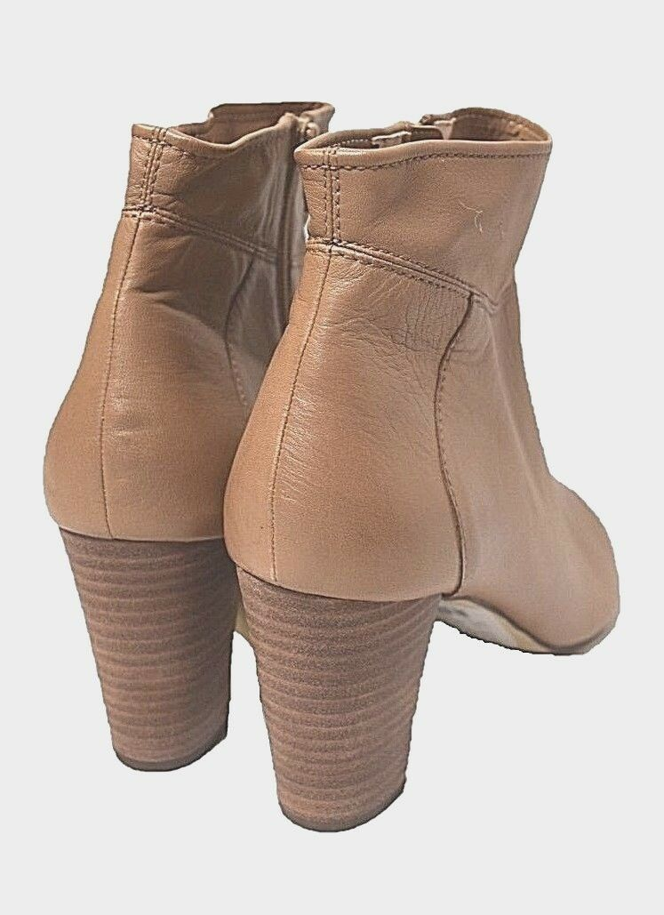 DIANA FERRARI leather ankle boots sz 9.5     41 NOLITA tan  shoes NIB rrp 180 885c79