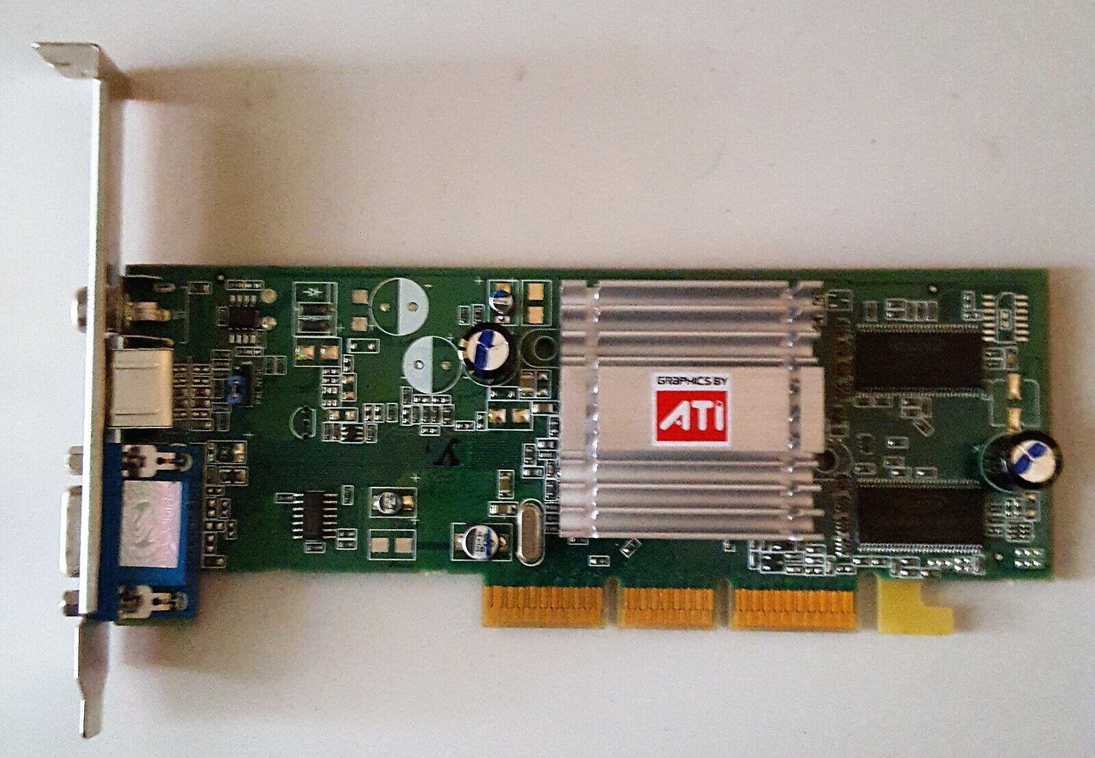 Sapphire Radeon 9250 Graphics Card 128 MB AGP PC Video Card