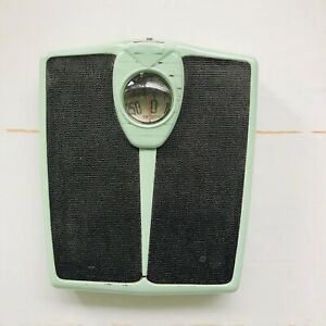 VIntage 50s Mid Century Shabby Turquoise Detecto Bathroom ...