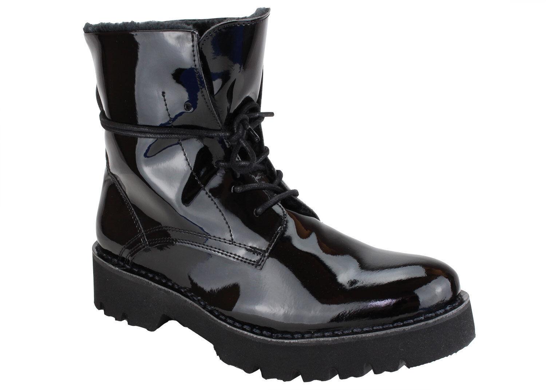 Buffalo estuco bota bota bota Mujer Abotinados botas Robustas Transpirable Con Cordones Comfy-Nuevo  tienda de ventas outlet