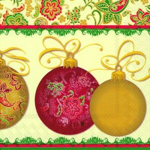 Magnifico-Christmas-Baubles-luxury-paper-napkins-traditional-english-20-in-pack