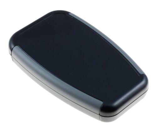 Hammond 1553abk SOFT schierato palmare nero strumento Enclosure caso 100x61x17mm