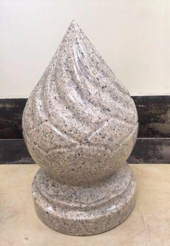 Golden Sand 15''x9'' Natural Stone Granite Pineapple