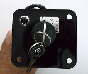 Yanmar Marine Grade Waterproof Ignition Switch with Panel