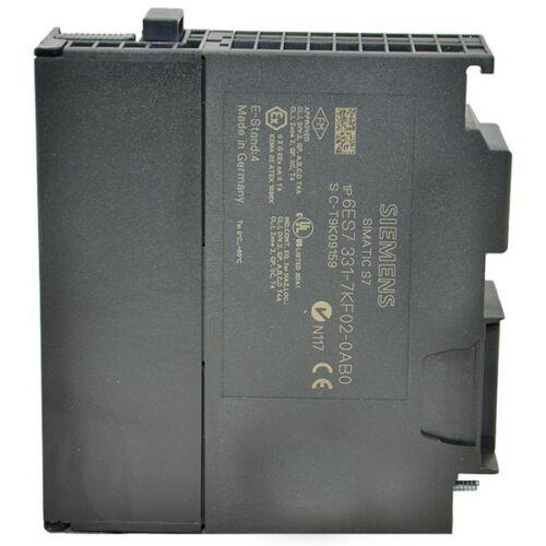 -SA 6ES7331-7KF02-0AB0 Siemens 8PT Analog Input SM331 Simatic S7