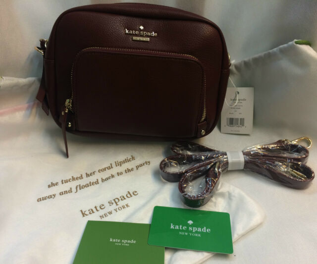 Authentic  Kate Spade New York Cobble Hill Leather mini crossbody / sling bag