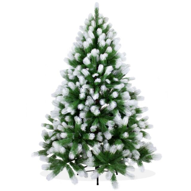 Künstlicher Weihnachtsbaum Günstig.Dekoland Ps02 Künstlicher Weihnachtsbaum Schnee 150 Cm Spritzguss Douglastanne Tannenbaum Grün