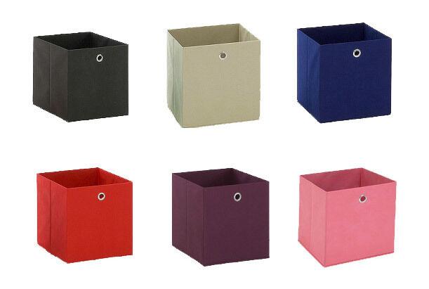 Faltbox Box Vliesbox Korb Schachtel Regalkorb Fleecekorb Aufbewahrungsbox MEGA