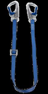 Ikar 1.5//2 mètre Réglable Sangle Lanière-avec double action Crochets Chute PPE