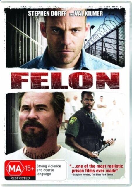 FELON  DVD - Stephen Dorff, Val Kilmer - PAL Region 4