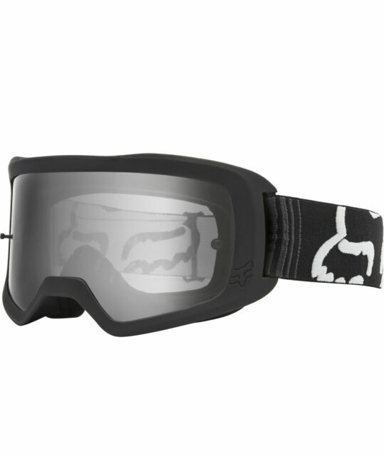 Fox Racing 2020 Main II Black Race Goggle Mens Motocross MX ATV 24001-001