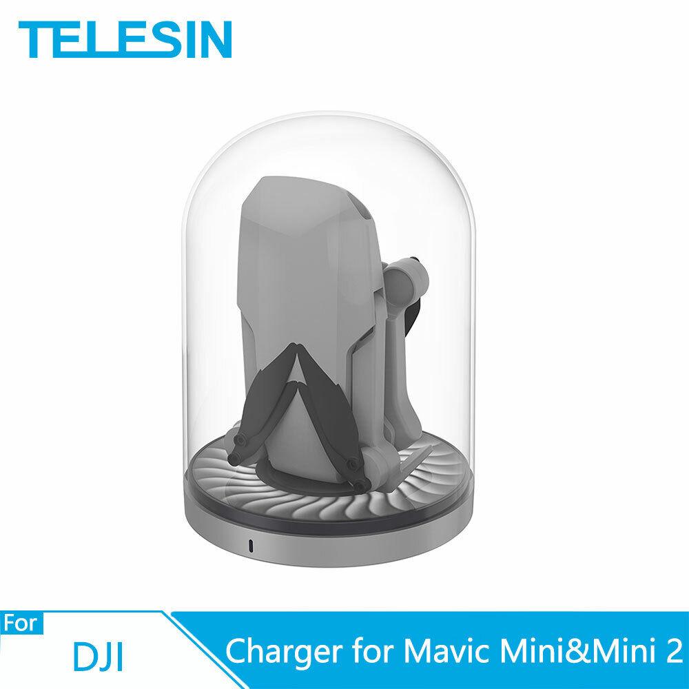 TELESIN Drone Charging Base Battery Charger Station For DJI Mavic Mini & Mini 2
