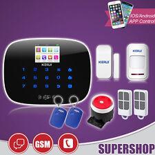 G19 ANTIFURTO ALLARME KIT CASA COMBINATORE GSM WIRELESS CELLULARE SMARTPHONE